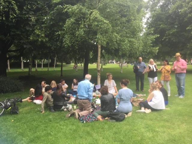 Trinity College Dublin Association London Pimms Picnic in Hyde Park 2019