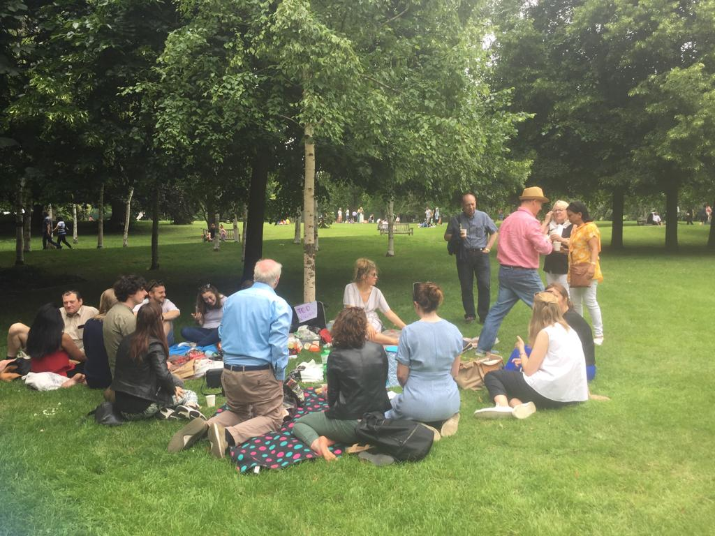 Trinity College Dublin Association London Pimms Picnic in Hyde Park 2019