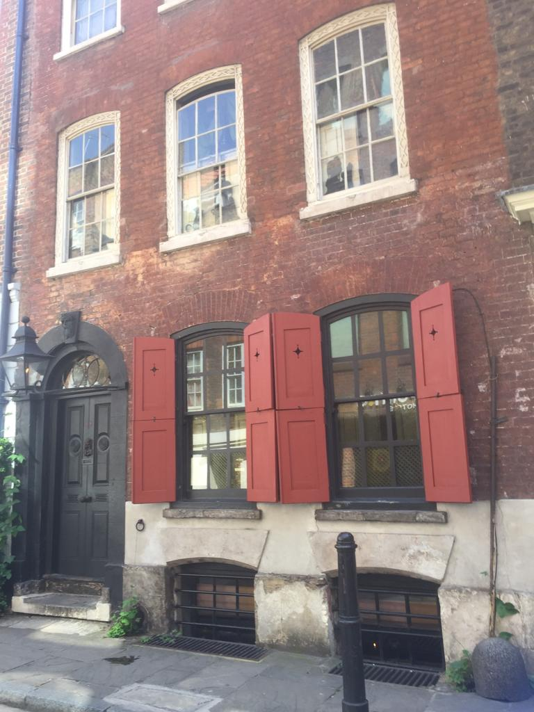 Trinity College Dublin Association London Dennis Severs' House 2019