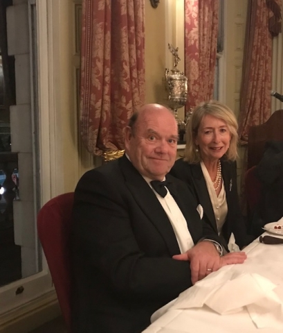 paul mcguiness former manager u2 trinity college dublin tcd association london joint dinner 2019 lucy o'sullivan