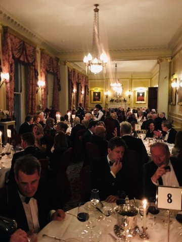 trinity college dublin tcd association london joint dinner 2019